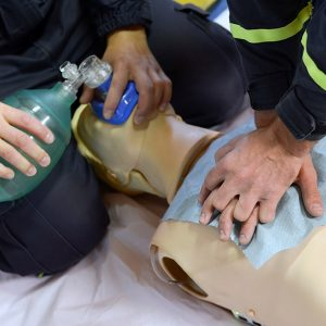 CPR Level HCP & AED (Automatic External Defibrillator)